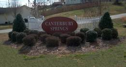 The Canterbury Springs SD in Grantville.